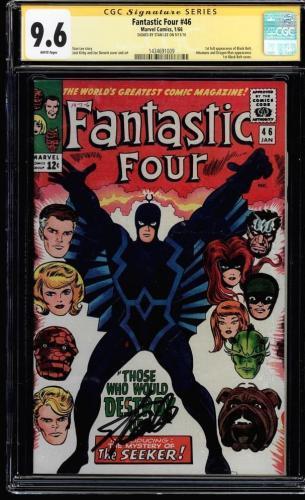 Fantastic Four #46 Cgc 9.6 W Ss Stan Lee Single Highest-1st B. Bolt #1434691009