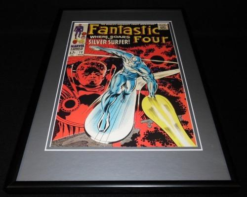 Fantastic Four #72 Framed 12x18 Cover Photo Poster Display Official Repro Marvel