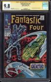 Fantastic Four #74 Cgc 9.8 Oww Ss Stan Lee Signed Highest Graded Cgc #1434691010