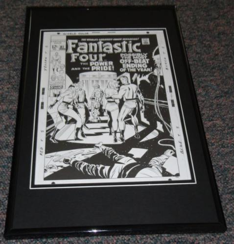 Fantastic Four #87 Framed 9x12 Cover Poster Photo Jack Kirby
