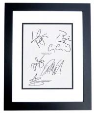 FANTASTIC MR. FOX Autographed Script by George Clooney, Meryl Streep, Jason Schwartzman, Bill Murray, Willem Dafoe, and Owen Wilson BLACK CUSTOM FRAME