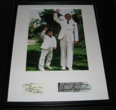 Fantasy Island Cast Signed Framed 16x20 Photo Display H Villechaize R Montalban