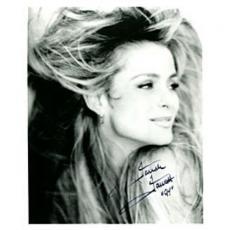 Farrah Fawcett Autographed / Signed Black & White 8x10 Photo
