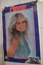 Farrah Fawcett Holly In Logan's Run Original 23x35 Poster Thought Factory Rare