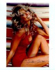 Farrah Fawcett Iconic Pose Jsa Authenticated Signed 8x10 Photo Autograph