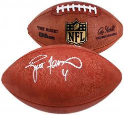 Brett Favre Green Bay Packers Autographed Duke Pro Football