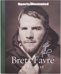Brett Favre Green Bay Packers Autographed Sports Illustrated Hard Back Magazine