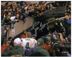 "Brett Favre Green Bay Packers Autographed 8"" x 10"" Walking Away Photograph"