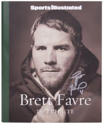 Brett Favre Green Bay Packers Autographed Tribute Book - Mounted Memories