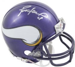 Minnesota Vikings Brett Favre Signed Mini Helmet