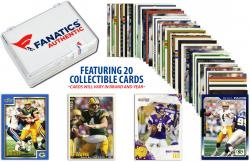 Brett Favre Green Bay Packers Collectible Lot of 20 NFL Trading Cards - Mounted Memories