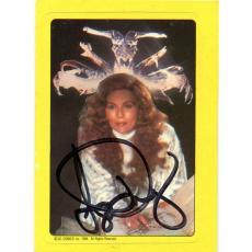 Faye Dunaway Autographed 1984 DC Comics Card