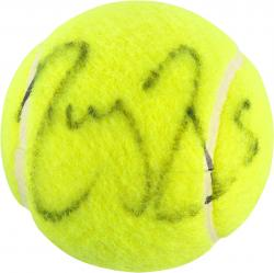 Autographed Reger Federer Tennis Ball - French Open