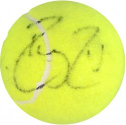Roger Federer & Rafael Nadal Dual Autographed Tennis Ball