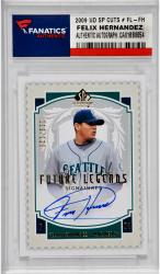 Felix Hernandez Seattle Mariners Autographed 2009 Upper Deck Sp Legendary Cuts # FL-FH Card