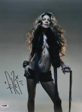 Fergie Autographed 11x14 PSA/DNA