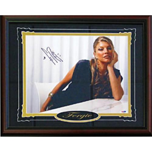 Fergie Autographed / Signed Framed 11x14 Photo (PSA/DNA)