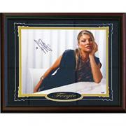 Fergie Autographed / Signed Framed 11x14 Photo (PSA/DNA)