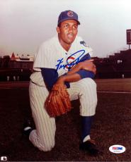 Fergie Jenkins Autographed Signed 8x10 Photo Chicago Cubs Psa/dna 79025