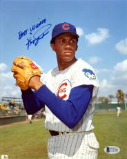"Fergie Jenkins Autographed Signed 8x10 Photo Cubs ""Best Wishes"" Beckett #C71290"