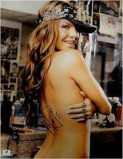 Fergie Signed Autographed 11X14 Photo Black Eyed Peas Sexy with Rings GA774674