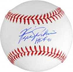 "Fergie Jenkins Autographed Baseball with ""HOF 91"" Inscription"