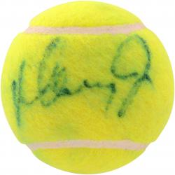 Mary Fernandez Autographed Tennis Ball