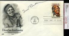 Fess Parker 1984 Jsa Certed Fdc Authentic Autograph