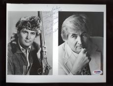 Fess Parker Davy Crockett Autograph 8X10 Photo PSA/DNA