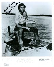 Fess Parker Davy Crockett Jsa Signed 8x10 Photo Authentic Autograph