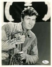 FESS PARKER JSA COA HAND SIGNED 8x10 PHOTO AUTHENTICATED AUTOGRAPH