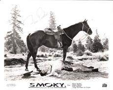 "FESS PARKER ""SMOKY"" Passed Away 2010 - Signed 10x8 B/W Photo"