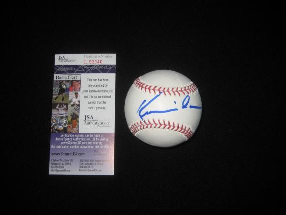 Field Of Dreams Kevin Costner Signed Oml Baseball Bull Durham Jsa Authenticated