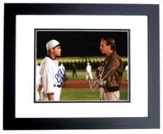 Field Of Dreams Signed - Autographed 11x14 Photo by Ray Liotta and Kevin Costner - BLACK CUSTOM FRAME