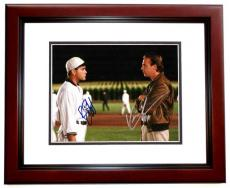 Field Of Dreams Signed - Autographed 11x14 Photo by Ray Liotta and Kevin Costner - MAHOGANY CUSTOM FRAME