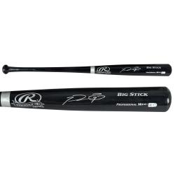 Prince Fielder Texas Rangers Autographed Rawlings Black Bat - Mounted Memories