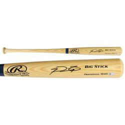 Prince Fielder Texas Rangers Autographed Rawlings Blonde Bat - Mounted Memories