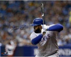 "Prince Fielder Texas Rangers Autographed 16"" x 20"" Horizontal Gray Jersey Photograph"