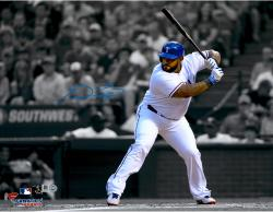 Prince Fielder Texas Rangers Autographed 11'' x 14'' Spotlight Photograph - Mounted Memories
