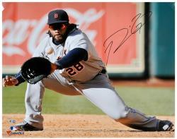 Prince Fielder Detroit Tigers Autographed 16'' x 20'' Grey Fielding Photograph
