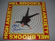 "FILM LEGEND MEL BROOKS signed autographed ""HIGH ANXIETY"" LP RECORD PSA/DNA COA!"