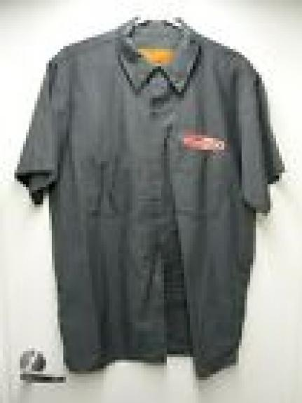 Filter Band REAL CREW World Tour Issued Large Dickies Shirt SS2