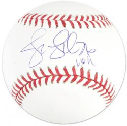 Jennie Finch Autographed Baseball - USA Mounted Memories