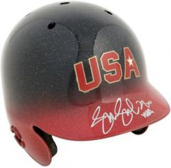 Jennie Finch Team USA Autographed Mini Helmet