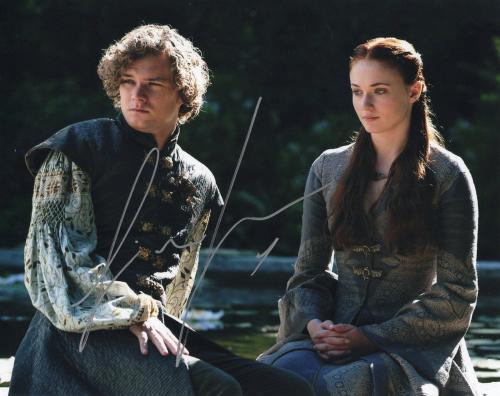 Finn Jones Game of Thrones Loras Tyrell Signed 8x10 Photo w/COA #1