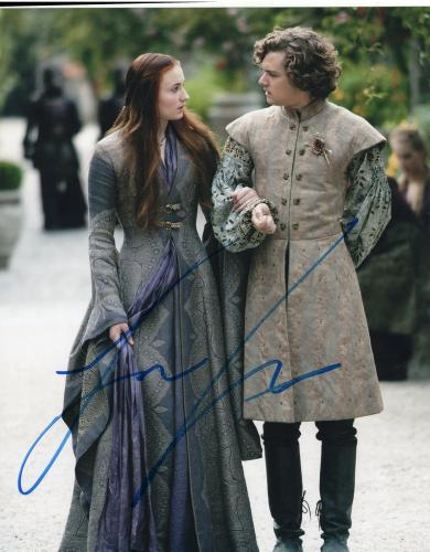 Finn Jones Game of Thrones Loras Tyrell Signed 8x10 Photo w/COA