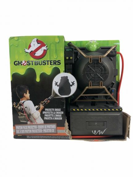 Finn Wolfhard Autograph Ghostbusters Proton Pack Toy Signed JSA COA