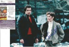 Finola Hughes W/john Travolta Signed Autographed 8x10 Photo Jsa Coa #j63881