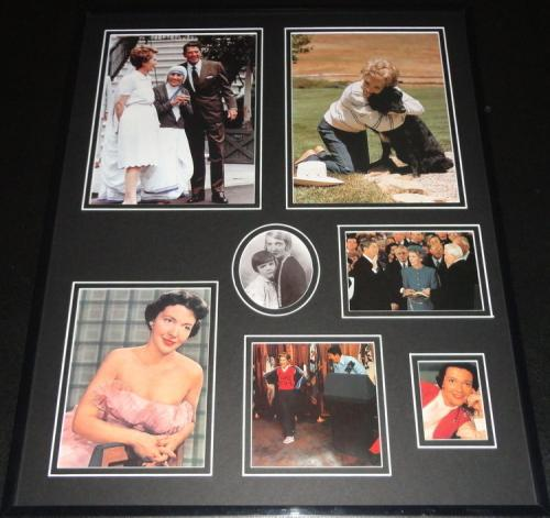 First Lady Nancy Reagan & Ronald Reagan Framed 16x20 Photo Collage