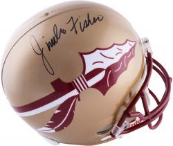 Jimbo Fisher Florida State Seminoles (FSU) Autographed Riddell Replica Helmet